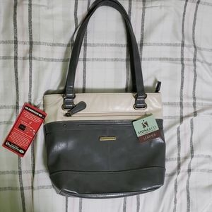 NWT Stone & Co Bag with In-Purse Phone Charger
